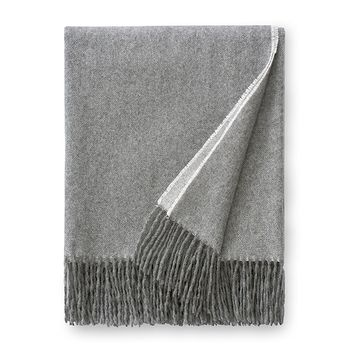 Renna Grey Throw by Sferra