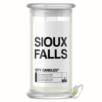 Sioux Falls City Jewelry Candle