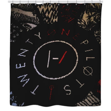 Twenty One Pilots Shower Curtain