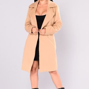 Upper East Side Coat - Camel