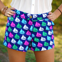 Page 6 Boutique - Sailboat Shorts