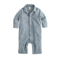 Baby Chambray Jumpsuit - crewcuts