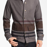 Obey 'New Territories' Fleece Zip Hoodie | Nordstrom