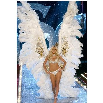 Large Feather Angel Wings Cosplay Costume