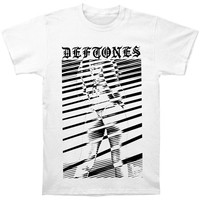 Deftones Men's  Girl T-shirt White