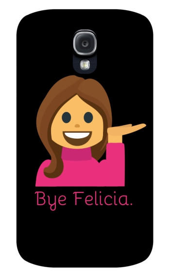 Bye Felicia Emoji Galaxy S4 Extra from Put a Case on Me  4f2ee4984