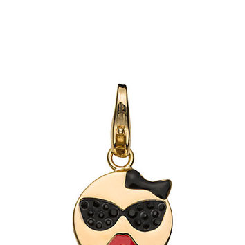Kate Spade Sunglasses Emoji Charm Black Multi ONE