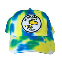 Vintage Culture Woodstock Patched Dad Hat In Tie Dye