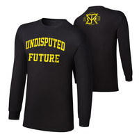 """Seth Rollins """"Undisputed Future"""" Long Sleeve T-Shirt"""