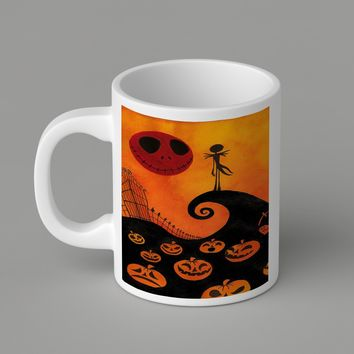 Gift Mugs | Jack Skellington Halloween   Ceramic Coffee Mugs