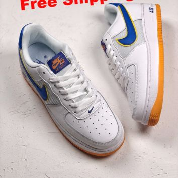 [ Free  Shipping ]Nike Air Force1 Low BY6602 168 Running Shoes