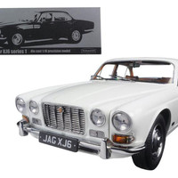 1971 Jaguar XJ6 Series 1 2.8 English White 1-18 Diecast Model Car by Paragon