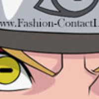 Naruto Sage Mode Contact Lenses - perfect for Naruto eyes