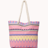 Zigzag Beach Bag