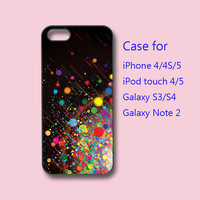 colorful bubble, iPhone 5 case, iPhone 4 case, ipod touch case, Samsung galaxy s3 case ,samsung galaxy s4 case, samsung galaxy note 2 case