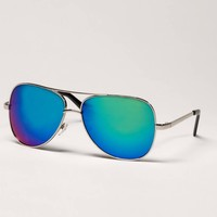 AE Mirrored Aviator Sunglasses | American Eagle Outfitters