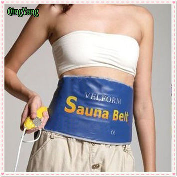 Sauna Belt.Heating Beauty Slimming Diet Products Care Body Wrap Massage. Sauna Exercise Belts For Weight Loss Belt
