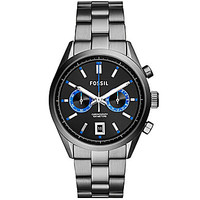 Fossil Men's Delrey Chronograph Stainless Steel Watch - Grey