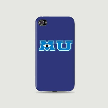 MU Collections: MU mike's hat Plastic Hard Case - iphone 5 - iphone 4 - iphone 4s - Samsung S3 - Samsung S4 - Samsung Note 2