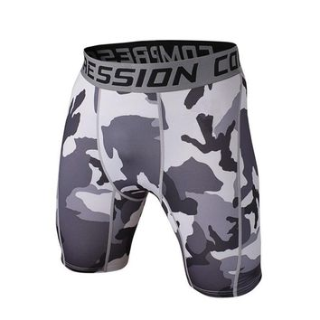Newest Fitness Sport Shorts Men Compression Shorts Bermuda Camouflage Shorts Trainning MMA Men Cossfit Bodybuilding Camo Short