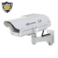 Dummy Camera in Outdoor Housing W Solar Powered Light