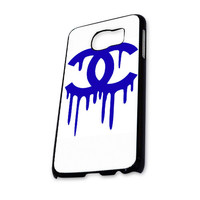 Chanel Logo Blue White Samsung Galaxy S6 Case