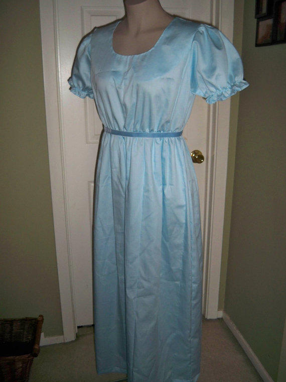 a4aeb29494 Adult Size Wendy Darling Nightgown Made from ninkey on Etsy