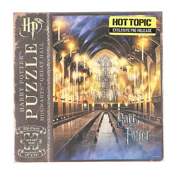 Harry Potter Hogwarts Great Hall 550-Piece Puzzle