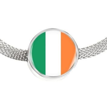 Irish Pride - Luxury Charm Bracelet