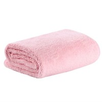Soft Luxurious Plush Fleece Throw Blanket Four Colors for Childent Pink~~ - Walmart.com