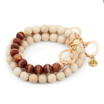 Chavez for Charity Counting Beads Bracelet/Necklace