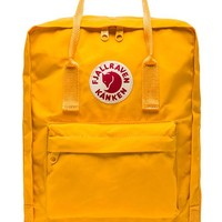 Fjallraven Kanken in Yellow