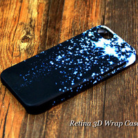 Blue Star Falling iPhone 6s Plus/6/5S/5C/5/4S/4 Protective Case #231
