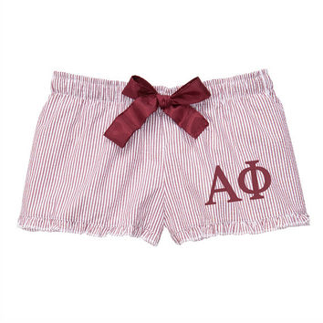Alpha Phi Boxers, alpha phi sorority, sorority boxers, greek boxers, alpha phi apparel, alphaphi, sorority apparel, little gift, big gift