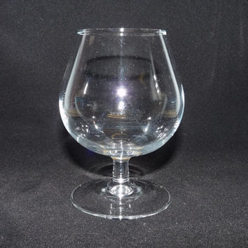 Brandy or Cognac Glass, Tulip Rim, Classic shape, Clear Plain Glass, ARC, Luminarc, France