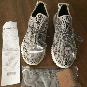 Good Quality Kanye West 350 Boost Running Shoes Men's Run Shoes Women's Sneakers Moonr