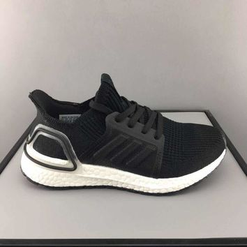 adidas Ultra Boost Black White Toddler Kid Running Shoes Child Low Top Sneakers - Best Deal Online