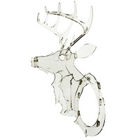 Acrylic Trophy Deer Head - A+R Store
