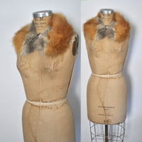 Red Fox Fur Collar