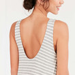 BDG Stripe Scoop-Back Dress - Urban Outfitters