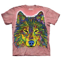 The Mountain Men's  Russo Wolf T-shirt