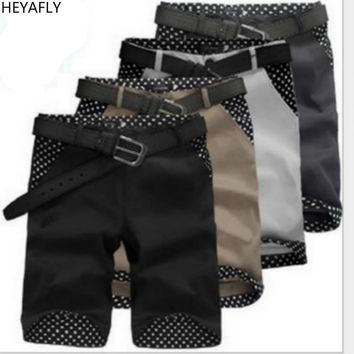 Men's  Shorts Breeches Loose Beach Sports Shorts Knickers 100% Cotton Youth Comfortable Breathable Riding breeches