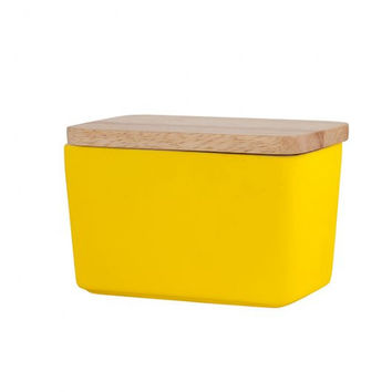 General Eclectic Butter dish - matte yellow