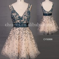 CY50886 Appliqued ball gown Dress, short knee length cocktail dress, View cocktail dress, Choiyes | Cocktail Dresses Product Details from Chaozhou Choiyes Evening Dress Co., Ltd. on Alibaba.com