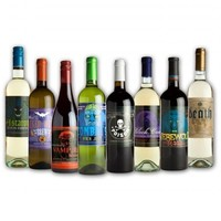 Halloween: Glow in the Dark Wine Bottle Labels Stickers » GiftWhirl.com