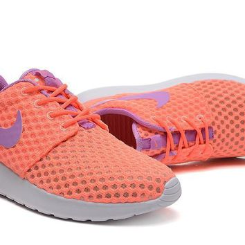 Nike Roshe Run BR Women Sport Casual Honeycomb Net Cloth Breathable Sneakers Running Shoes-2