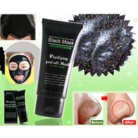 Womens Black Mud Face Mask Blackhead Remover Deep Cleansing Purifying Peel Acne