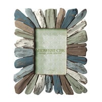 2 Photo Frames - Colored Driftwood