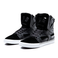 SKYTOP II BLACK - WHITE | Official SUPRA Footwear Site