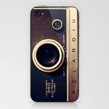Vintage Camera, Hard Plastic iphone 4/4s case, FREE shipping